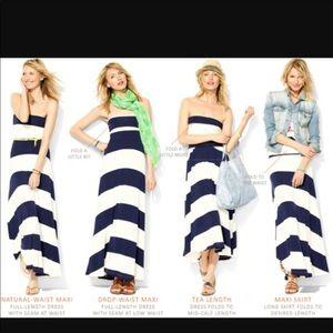 NWT Gap. 4 way maxi skirt/dress